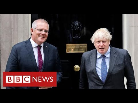 UK agrees post-Brexit trade deal with Australia - BBC News