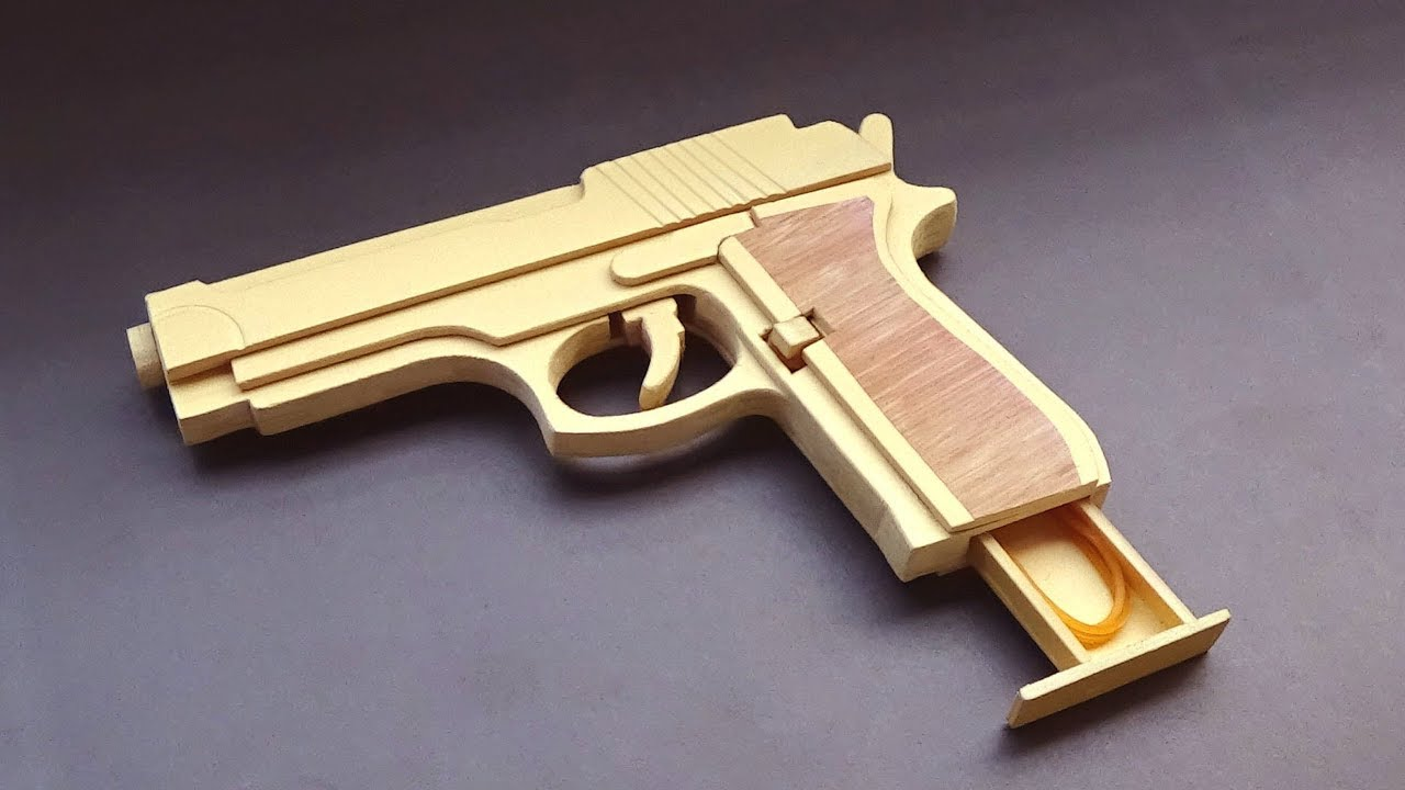 How To Make A M9 Rubber Band Gun Youtube