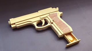 How To Make A M9 Rubber Band Gun |