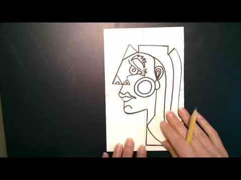 Picasso Inspired Cubist Sculpture: Step 1