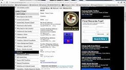 Prison Locator Inmate Federal