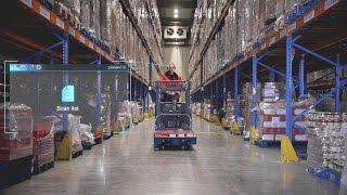 Picavi Pick-by-Vision bei Weerts Supply Chain (Kontraktlogistik Mondelēz)