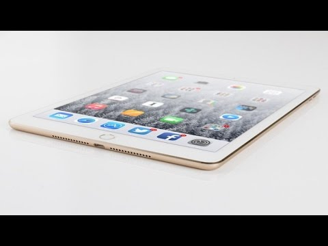 Apple iPad Pro 9.7 UnBoxing - 32GB WiFi & Cellular LTE 4G Rose Gold