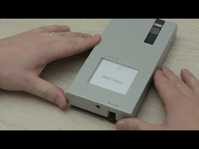 Comelit Quadra kit - felszerelés, üzembe helyezés 2 vezetéken