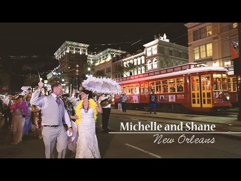 New Orleans Museum of Art Wedding Video by Bride Film