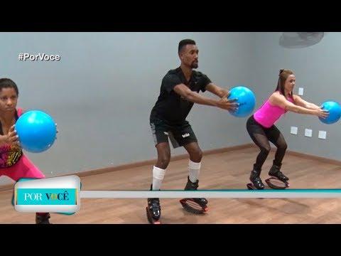 Por Você - Atividade Física: Kangoo Jump 21/07/18