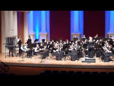 Mabry Middle School Band plays March of the Trolls by Edvard Grieg, Jan 26, 2015