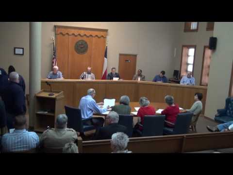 Titus County Texas Commissioners' Court held February 27, 2017.