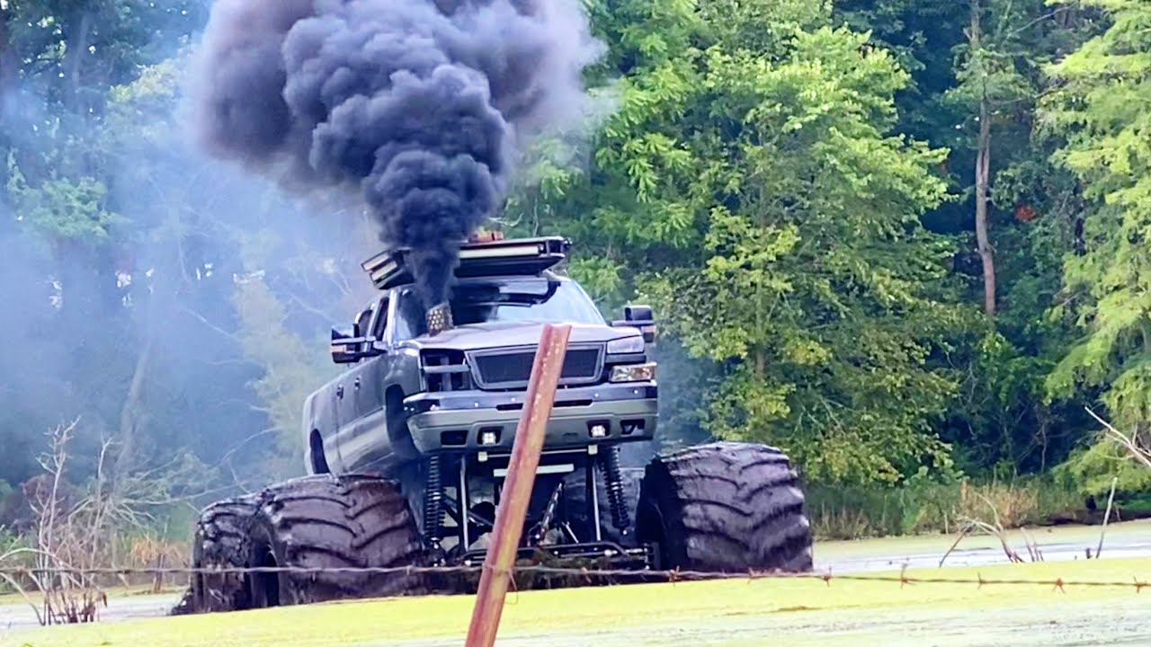 Monstermax Blows Up in the Swamp FULL TRAIN MODE