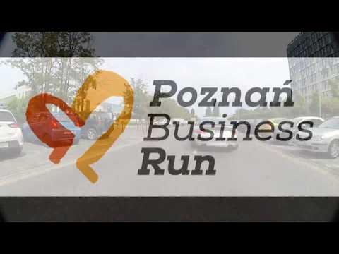 Trasa Poznań Business Run 2017