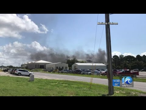 Climate lab explosion reported at Florida Air Force base