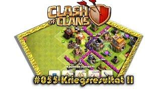 Let's play Clash Of Clans #055 Kriegsresultat II [Deutsch / German][LP iOS IPhone]