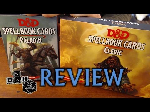 D&D 5E Spellbook Cards Review