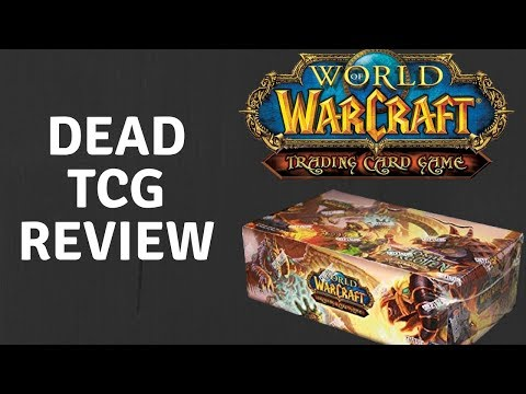 WORLD OF WARCRAFT TCG - A REAL CONTENDER