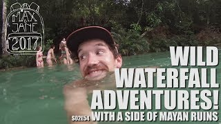 Palenque, Mexico | Ruins & Jumping off Waterfalls! | Central America Travel Vlog E54