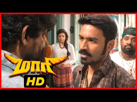 Maari Tamil Movie | Scenes | Dhanush saves...