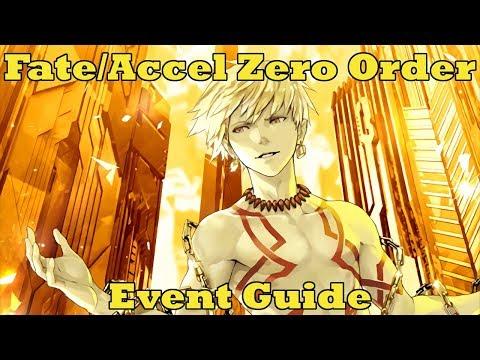 Fate/Accel Zero Order Event Guide - FGO