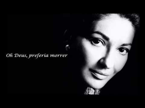 Maria Callas - O mio babbino caro  (tradução/legendado PTBR)