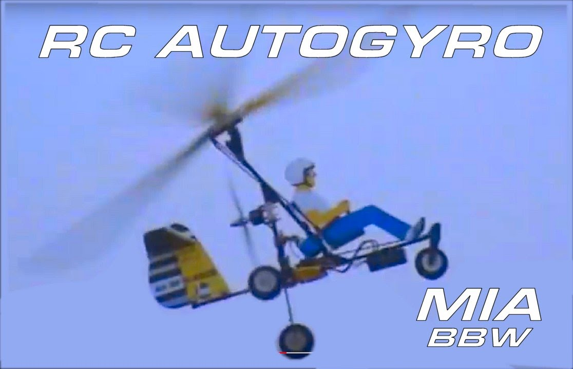 RC Autogyro 2 - Pusher - Ultralight - Bensen-Brock-Wallis - Gyrocopter