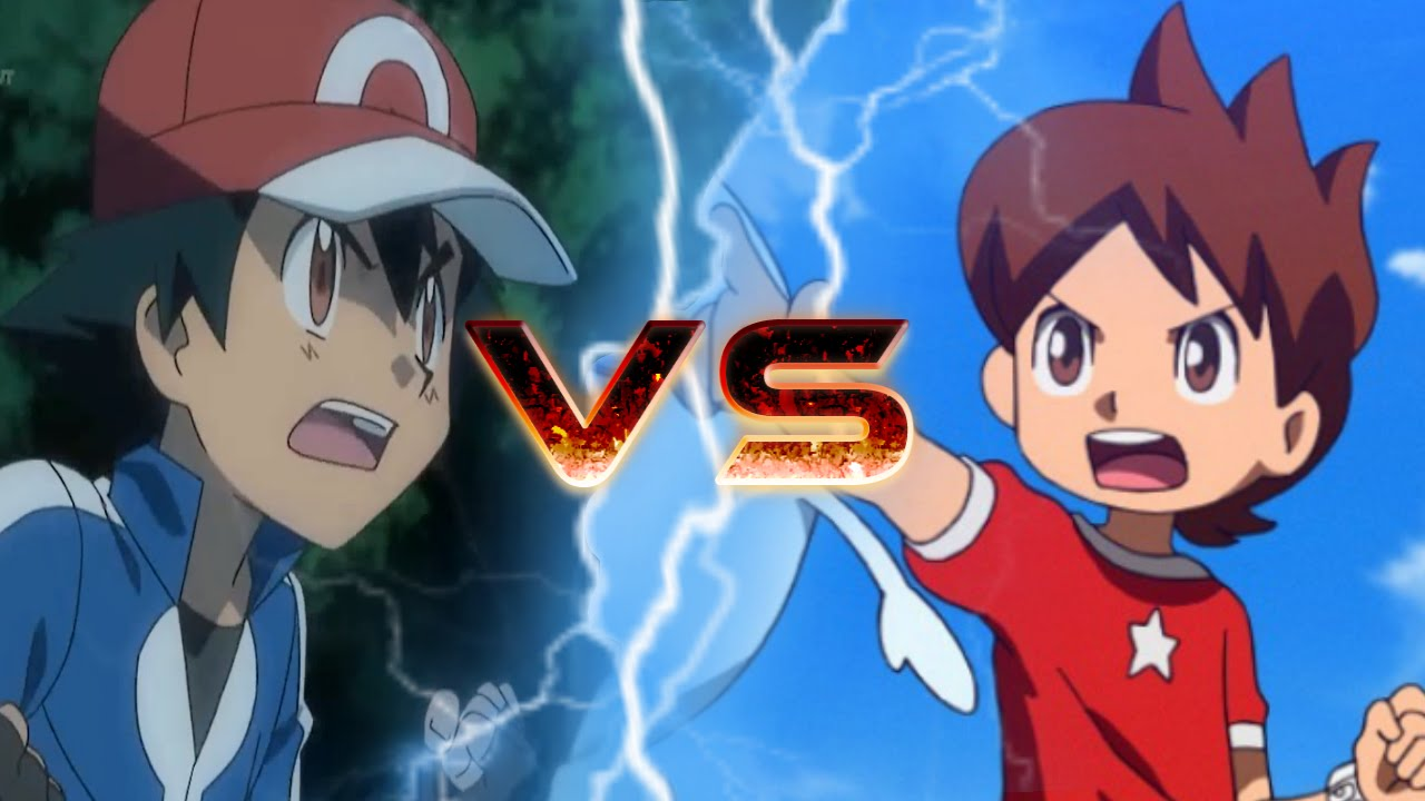Pokemon vs yo kai watch! youtube
