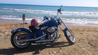 Harley Davidson Ride Cyprus, Rocker C Review, Part One 2015