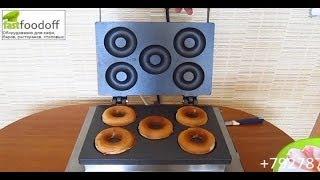 видео Характеристики аппаратов для изготовления пончиков. Какой аппарат пончиковый лучше