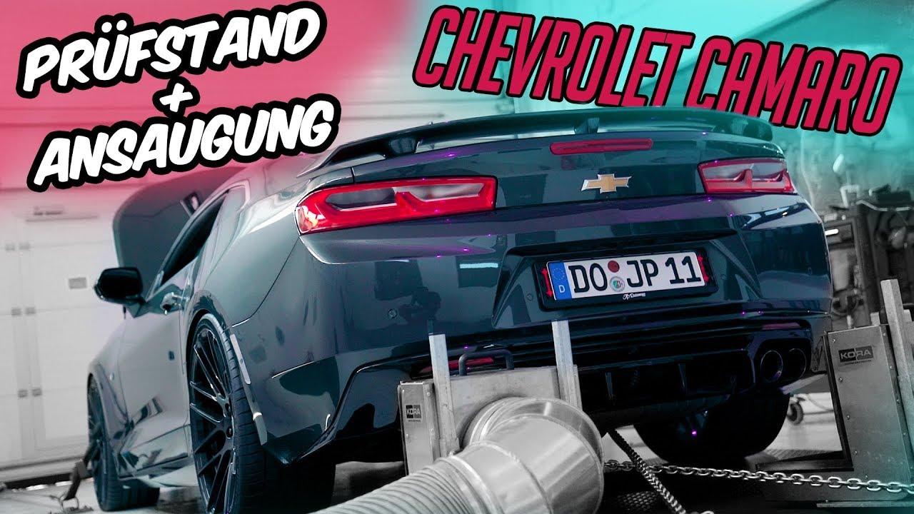 Jp Performance Prüfstand Ansaugung Chevrolet Camaro Youtube