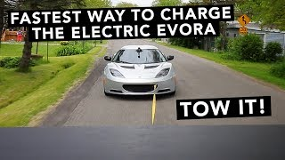 First Track Test, Super Car Lap times! - Lotus Evora Electric Car - EP05