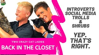 Introverts & Social Media in the Cat World | Two Crazy Cat Ladies