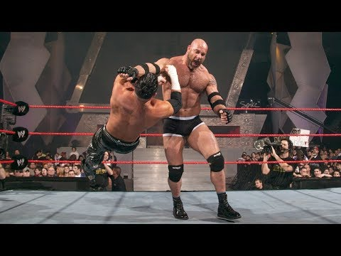 Goldberg destroys Matt Hardy: Raw, Jan. 12, 2004