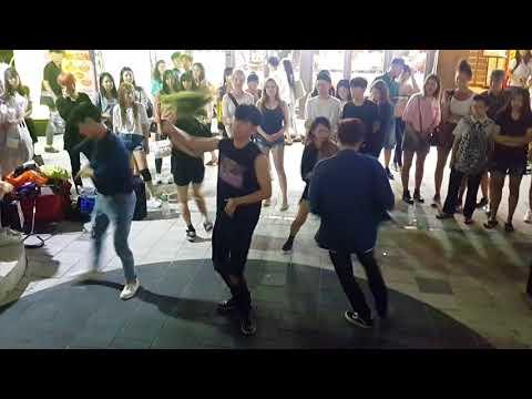 [댄스팀 오버도퍼즈] BLOCKB ☆YESTERDAY☆ 커버안무 홍대버스킹 20170825금 [Hongdae Kpop Street Dance]