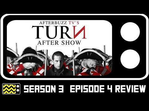 Turn Season 3 Episode 4  W Meegan Warner  AfterBuzz TV