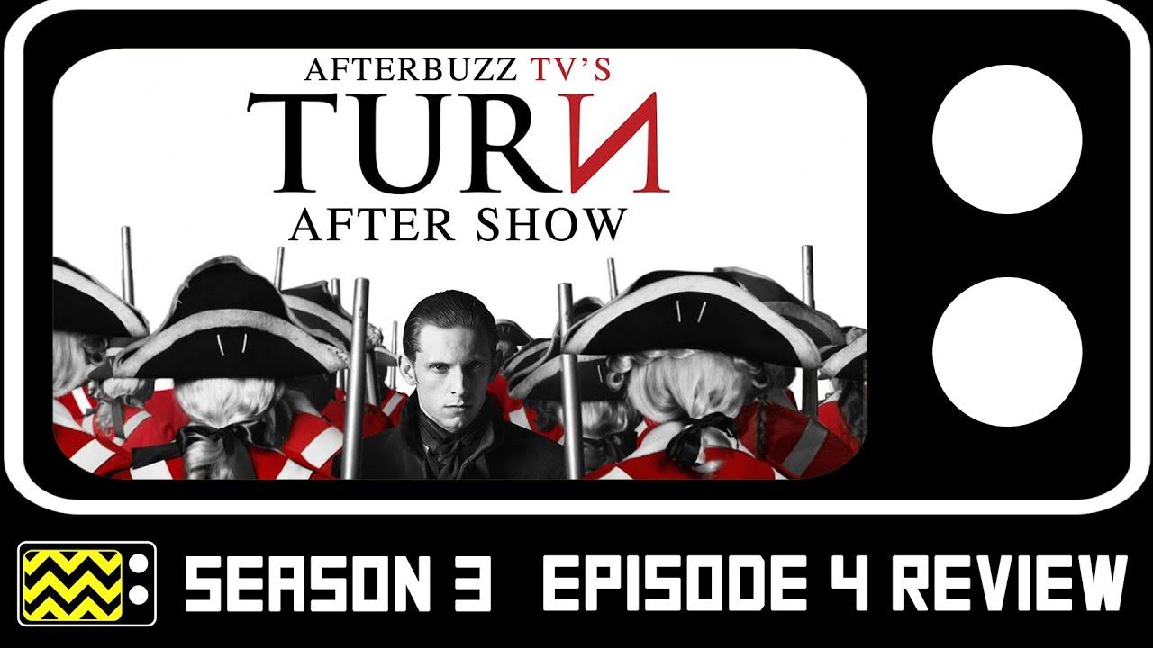 Download Turn Season 3 Episode 4 Review W/ Meegan Warner   AfterBuzz TV