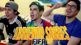 ABRIENDO SOBRES EN FIFA 15
