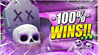 100% OFFENSE AND DEFENSE!! #1 NEW BEST GRAVEYARD DECK IN CLASH ROYALE!! 🏆