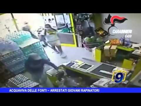 ACQUAVIVA DELLE FONTI | Arrestati giovani rapinatori