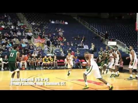 Top Recruit/Playmaker Jason Boswell Class of 2013 6'8 PG Trinity Catholic High Stamford, CT.