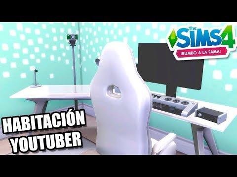 TODAS LAS DECORACIONES DE LOS SIMS 4 RUMBO A LA FAMA! Simscamp 2018 SPEED BUILD