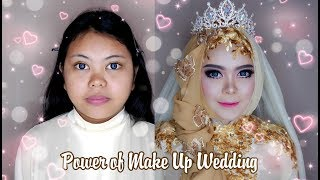 TUTORIAL MAKEUP BARBIE DOLL | foundation is thick but smooth by Rindy Nella Krisna