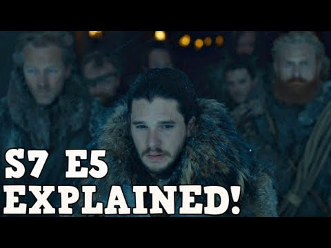 Game of Thrones Season 7 Episode 5 Explained | Eastwatch Breakdown
