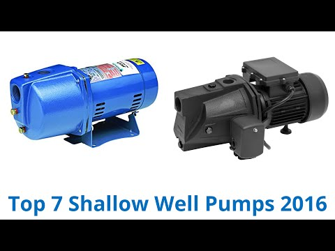 Shallow well pump hook up