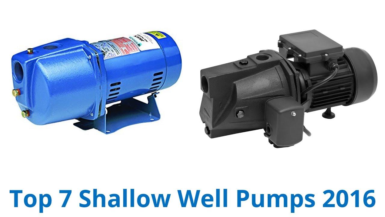 7 Best Shallow Well Pumps 2016