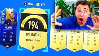 194 FUT DRAFT IN A PACK!! - FIFA 19 TOTS