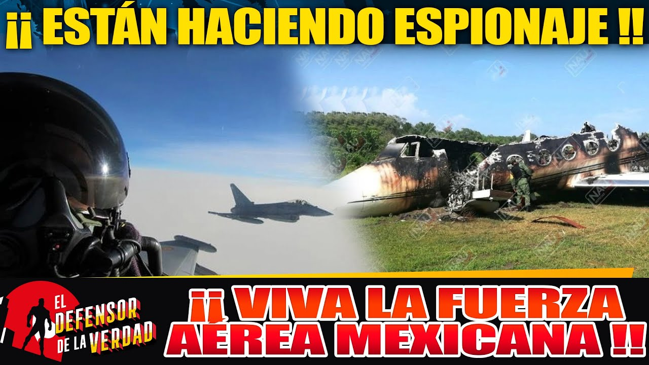 Fuerza Aérea Caza Avión Gringo Q Se Metió Ilegalmente a Espiar!! El Pentágono Responderá En Horas!!