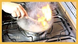 Como fritar bifes sem sujar o fogão! Testando a Receita Será que da certo ?