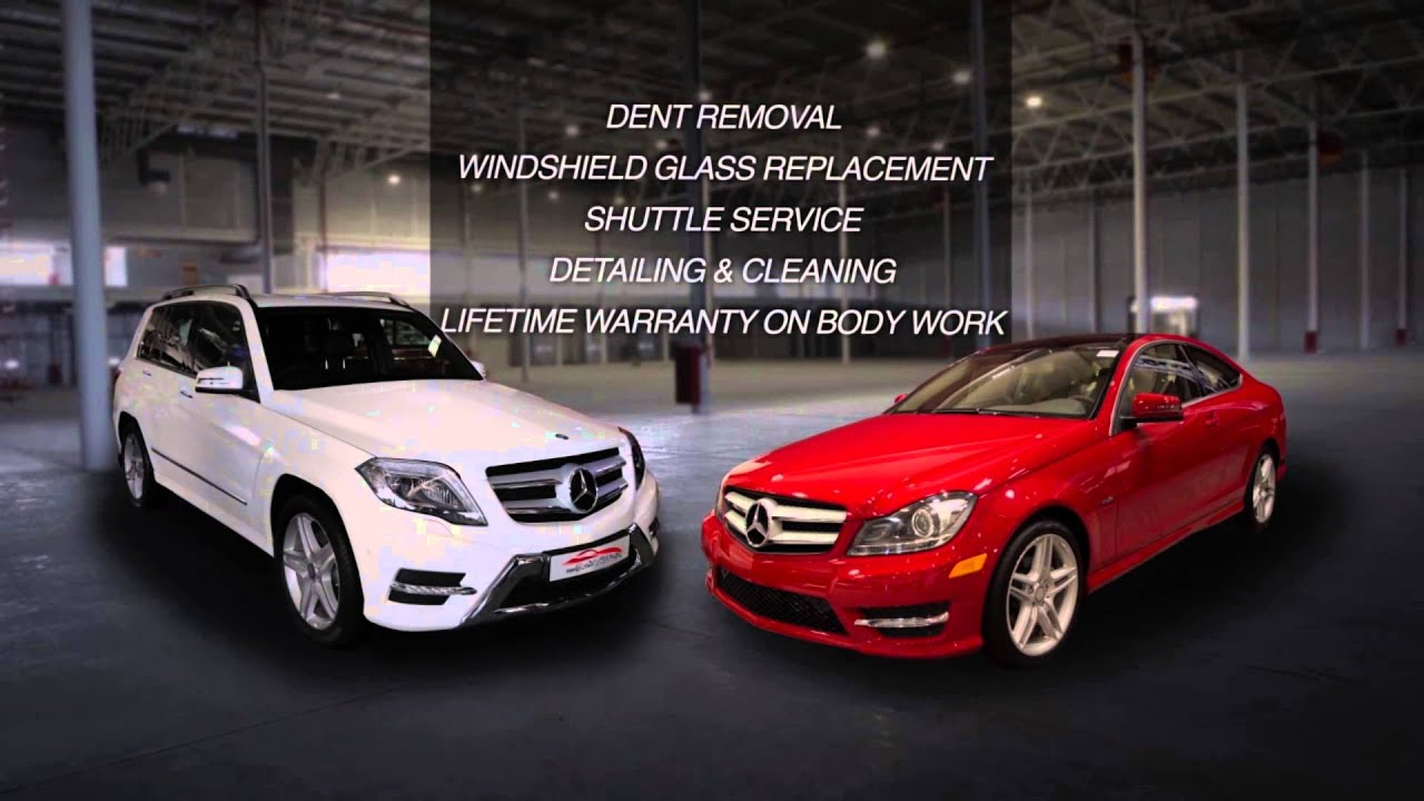 mercedes benz body repair shop in los angeles (818) 989-6028 - youtube