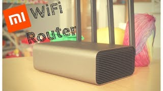 new 2017 router Xiaomi Mi R3P Pro view backstage presentation