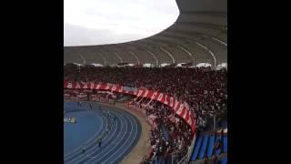 Se va a caer la popular !! América 2-1 Depor 2015