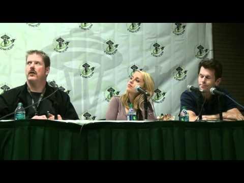 Emerald City Comic Con 2012 Voice Actors Panel Pt 2 Kevin Conroy, Tara Strong, John DiMaggio