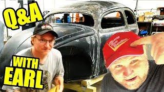 Classic Car Creations - 1956 Chop Top VW Beetle Mid Day Q&A - 78